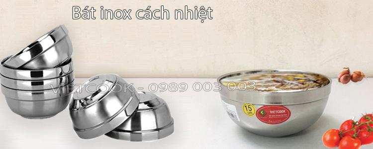 Bát inox 2 lớp cách nhiệt VIETCOOK